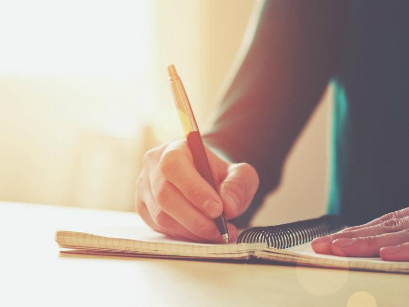 日記、日誌、日報をつけるコーチング